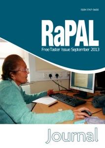 RaPAL Taster 2013