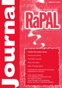 Taster Journal 2006