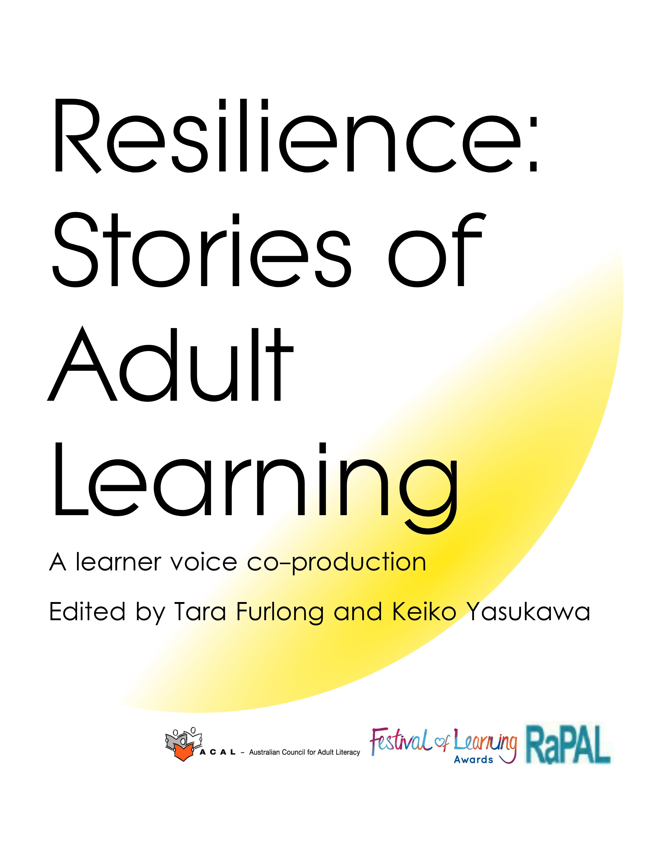 resilience: stories of adult learning | rapal