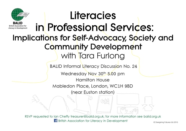 Literacies in Professional Services